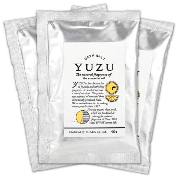 (1月)YUZUバスソルト(3個入り)